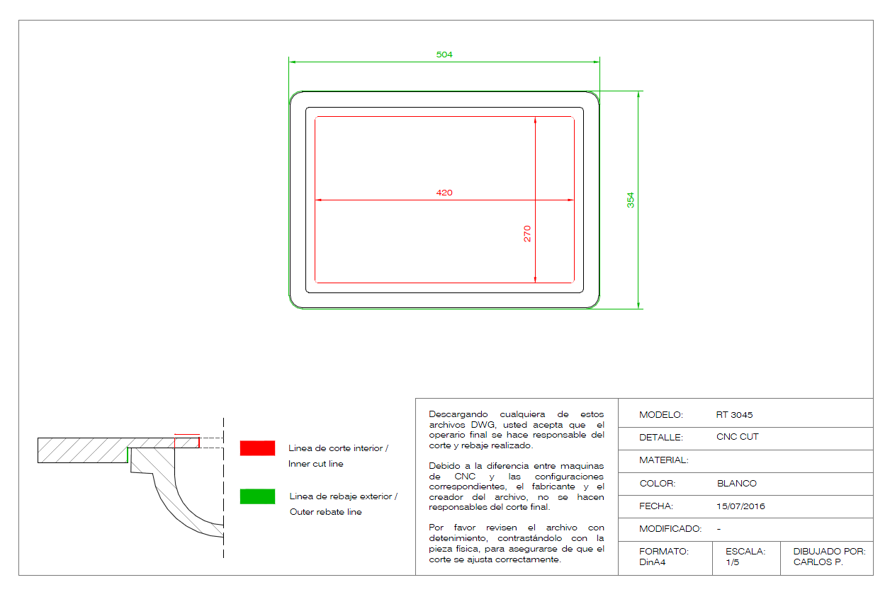 Solid Surface | Technical info - BIM
