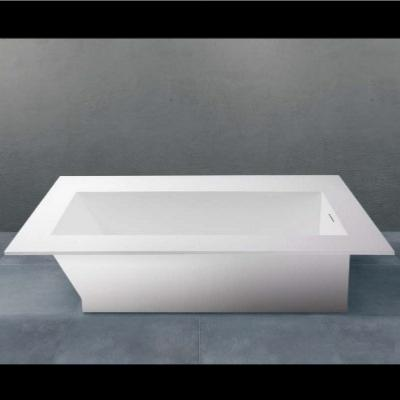 Bañera integrable compatible solid surface Betacryl 1550 X 700 X 37O mm int.